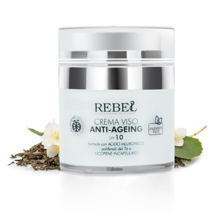 Rebel Crema Viso Anti-Ageing Double-Lift Effetto Anti Rughe - 50 ml