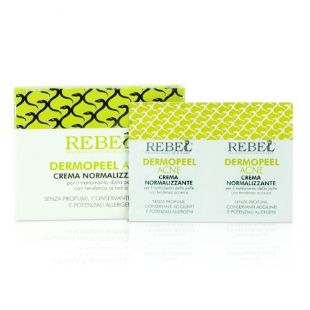 Rebel Dermopeel Acne Crema Normalizzante - 60 ml