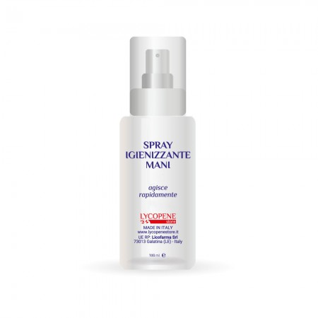 Spray Igienizzante Mani a Base Alcolica- 100 ml