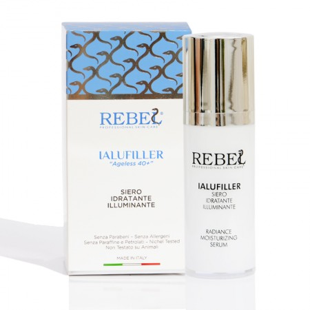 Rebel Ialufiller Ageless 40+ Siero Idratante Illuminante - 30 ml