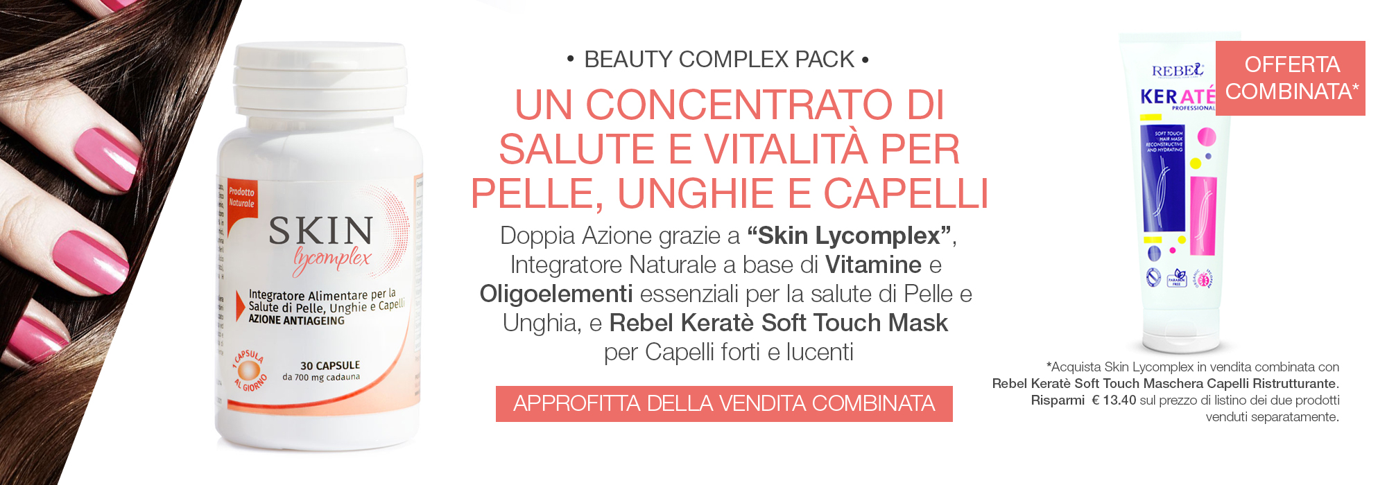 Beauty Complex Pack Capelli